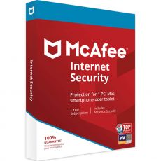 McAfee Internet Security 2021, Runtime: 1 ano, Device: 1 Device, image